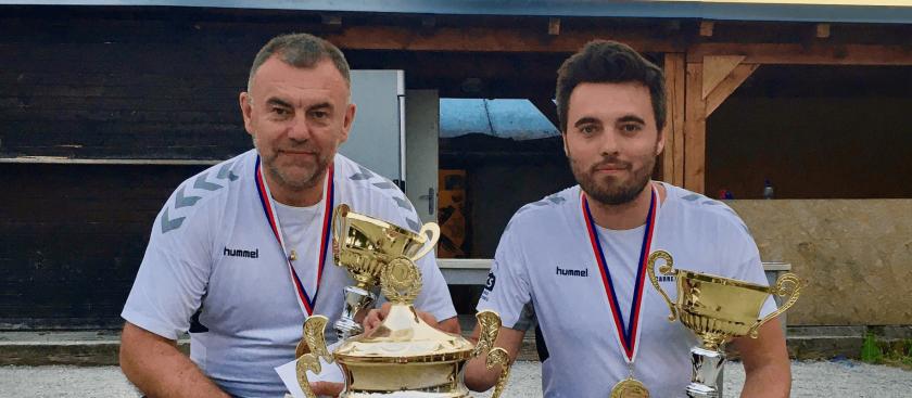 Ivoš a Honza získali double!