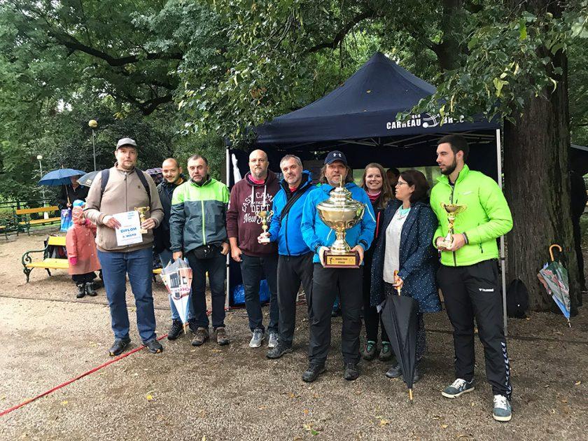 Zkrácenou sezónu Brněnského poháru vyhrálo Carreau Family